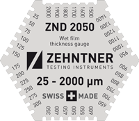 ZND 2050 Wet film thickness gauge