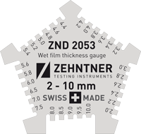 ZND 2053 Wet film thickness gauge